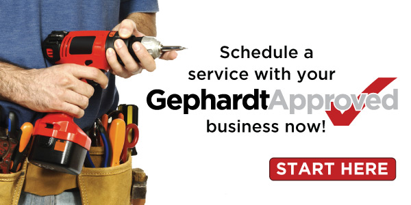 Get service from Gephardt Approved company
